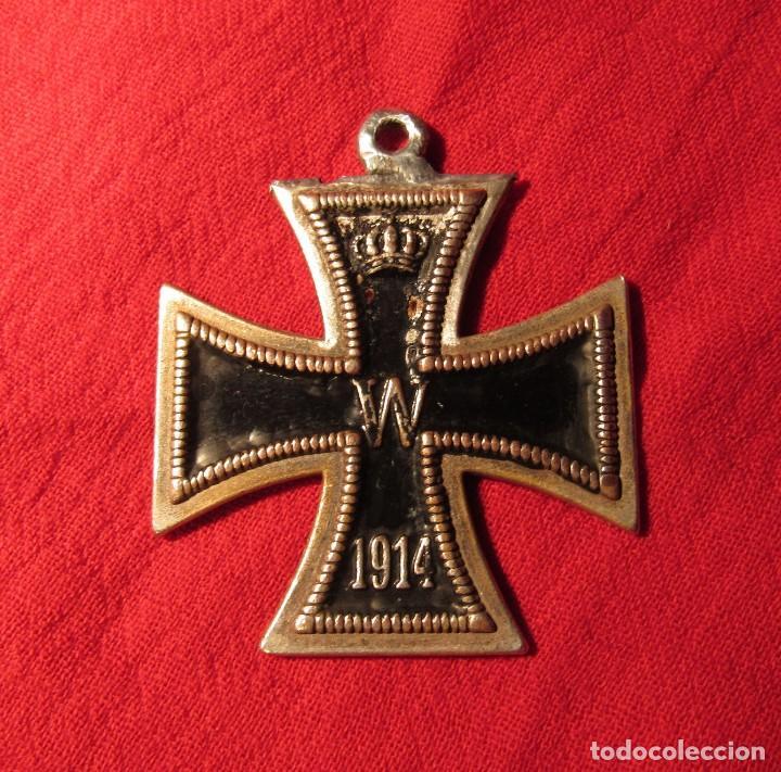 CRUZ DE CABALLERO DE LA CRUZ DE HIERRO DE 1ª GUERRA MUNDIAL, CONDECORACION, MEDALLA, 1ª G.M. 1914/18 (Militar - I Guerra Mundial)