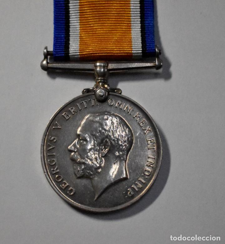 Militaria: MEDALLA PLATA MACIZA DE REINO UNIDO AL MERITO EN PARTICIPACION EN LA 1ª GUERRA MUNDIAL. - Foto 2 - 191253733