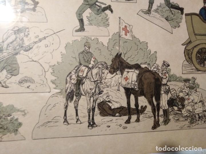 Militaria: Primera guerra mundial impresión de uniformes militares - Foto 2 - 192761611