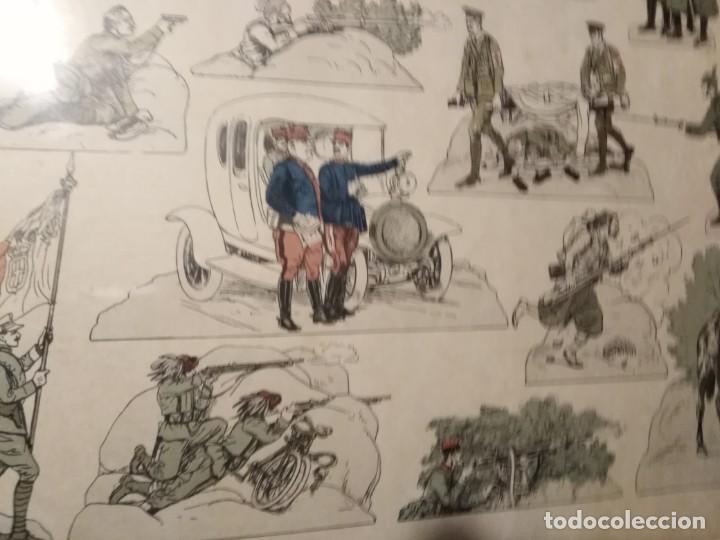 Militaria: Primera guerra mundial impresión de uniformes militares - Foto 3 - 192761611