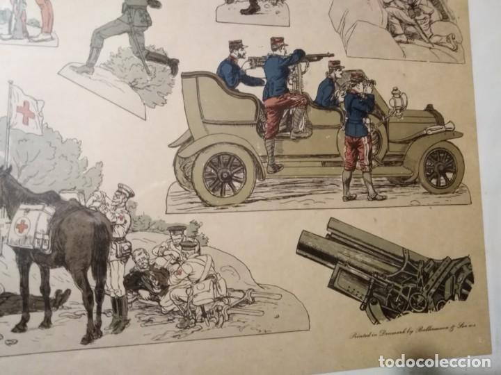 Militaria: Primera guerra mundial impresión de uniformes militares - Foto 5 - 192761611