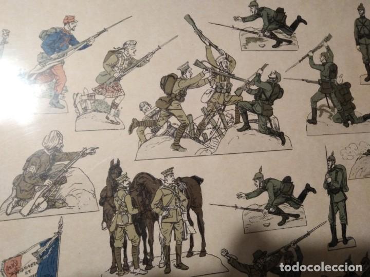 Militaria: Primera guerra mundial impresión de uniformes militares - Foto 8 - 192761611