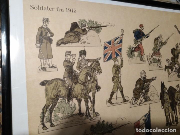 Militaria: Primera guerra mundial impresión de uniformes militares - Foto 9 - 192761611