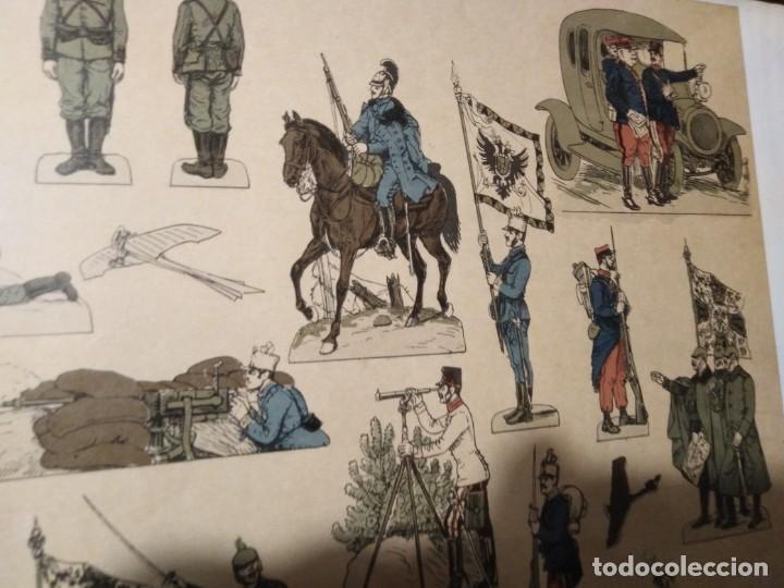 Militaria: Primera guerra mundial impresión de uniformes militares - Foto 12 - 192761611
