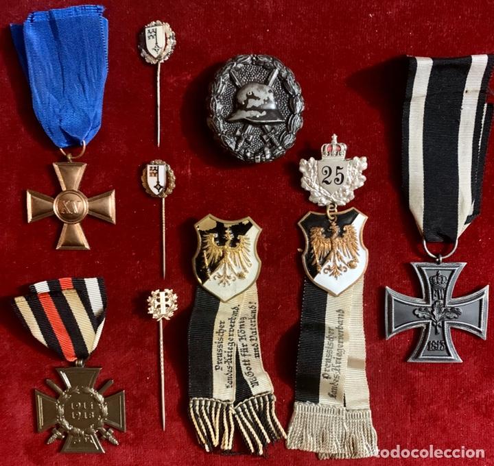 ALEMANIA, PRUSIA, I GUERRA MUNDIAL. GRAN LOTE DE MEDALLAS E INSIGNIAS. (Militar - I Guerra Mundial)