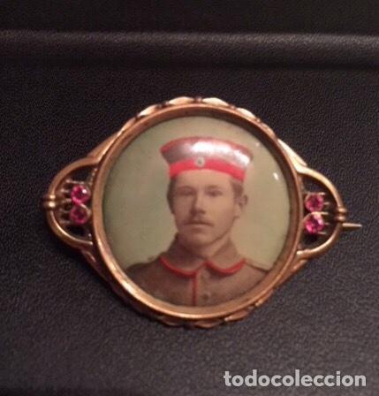 BROCHE CONMEMORATIVO I GUERRA MUNDIAL. MUY ESCASO. (Militar - I Guerra Mundial)