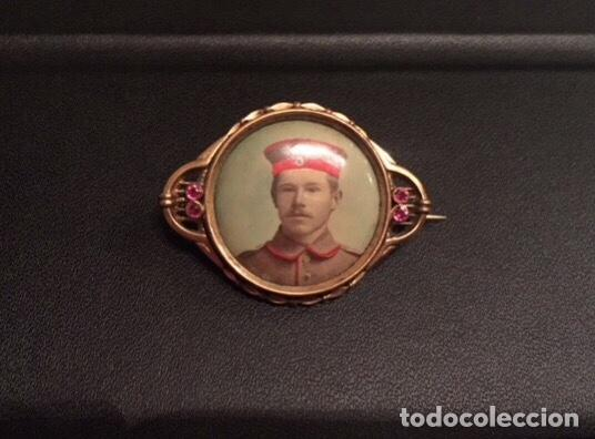 Militaria: BROCHE CONMEMORATIVO I GUERRA MUNDIAL. MUY ESCASO. - Foto 2 - 194522475