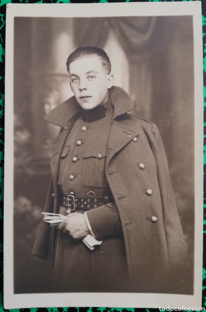 MILITAR - FOTO DE ESTUDIO - PHOTO LUX, A. MONDELARERS, BOURG LEOPOLD - PJRB (Militar - I Guerra Mundial)