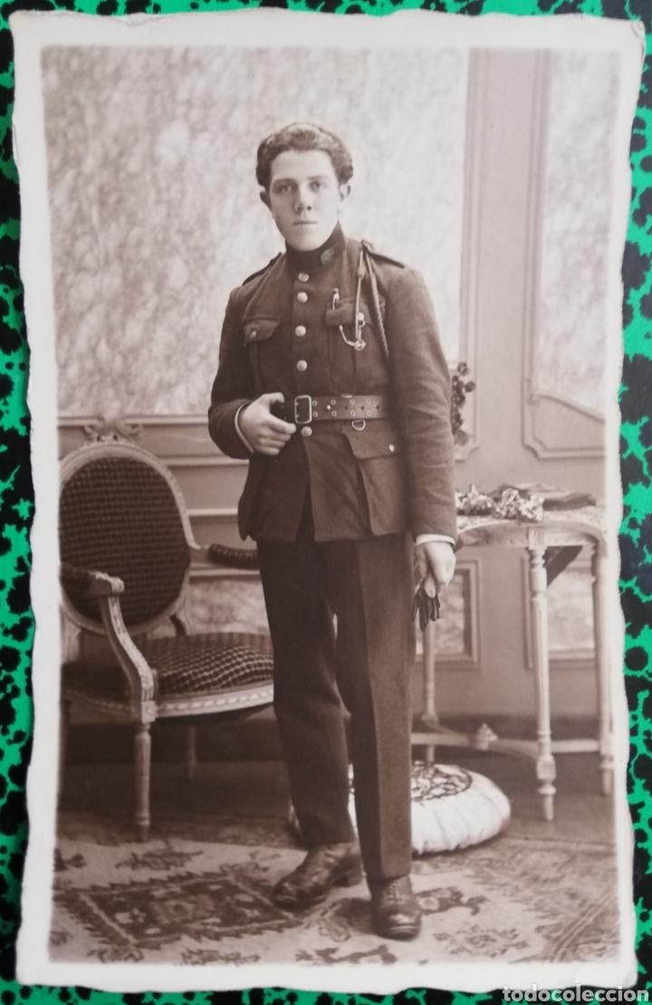 MILITAR - FOTO DE ESTUDIO - PHOTO LAPAILLS, LIÈGE - PJRB (Militar - I Guerra Mundial)