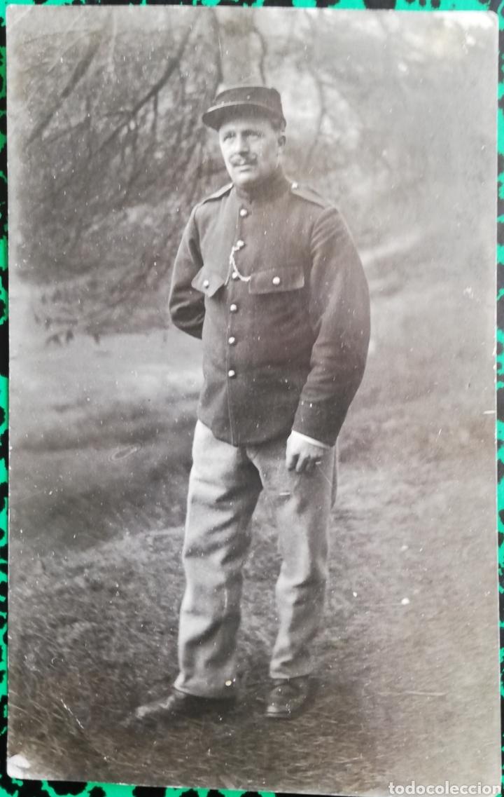 MILITAR - FOTO DE ESTUDIO - CIRCULADA Y FECHADA (1-1-1918) - PJRB (Militar - I Guerra Mundial)