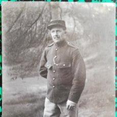 Militaria: MILITAR - FOTO DE ESTUDIO - CIRCULADA Y FECHADA (1-1-1918) - PJRB. Lote 196338123
