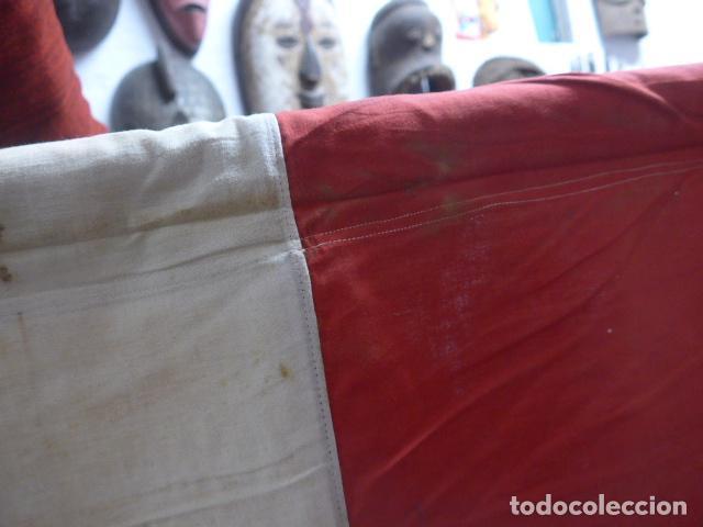 Militaria: Antigua gigantesca bandera alemana de organismo oficial de 1a guerra mundial, original, alemania. - Foto 18 - 196387206