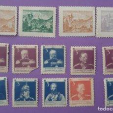 Militaria: LOTE 14 SELLOS CONTIENE GENERALES ALEMANES PRIMERA GUERRA MUNDIAL. Lote 196519698