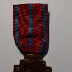 Militaria: MEDALLA AL MERITO AYUDA HERIDOS EN COMBATE DE LA CRUZ ROJA DE BELGICA.1ª GUERRA MUNDIAL. Lote 197239663