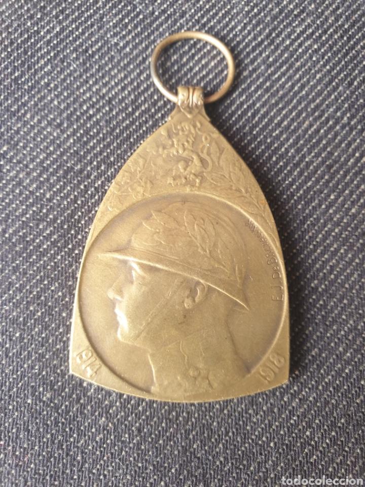 MEDALLA DE BELGICA WWL (Militar - I Guerra Mundial)