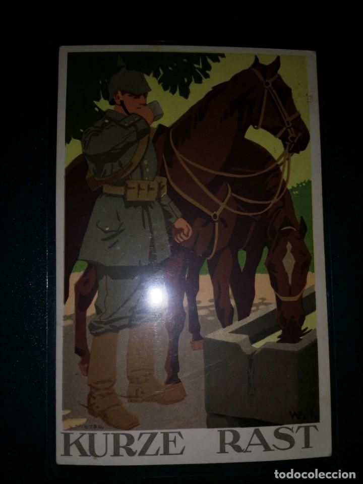 POSTAL WWI ALEMANIA FELDPOST (Militar - I Guerra Mundial)