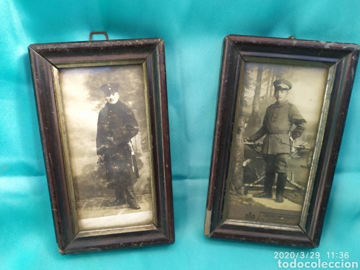 LOTE FOTOGRAFIAS ORIGINALES SOLDADOS ALEMANES IWW (Militar - I Guerra Mundial)
