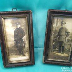 Militaria: LOTE FOTOGRAFIAS ORIGINALES SOLDADOS ALEMANES IWW. Lote 199265822