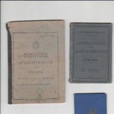 Militaria: DOCUMENTACION DE SOLDADO ITALIANO DE LA PRIMERA GUERRA MUNDIAL. Lote 199976371