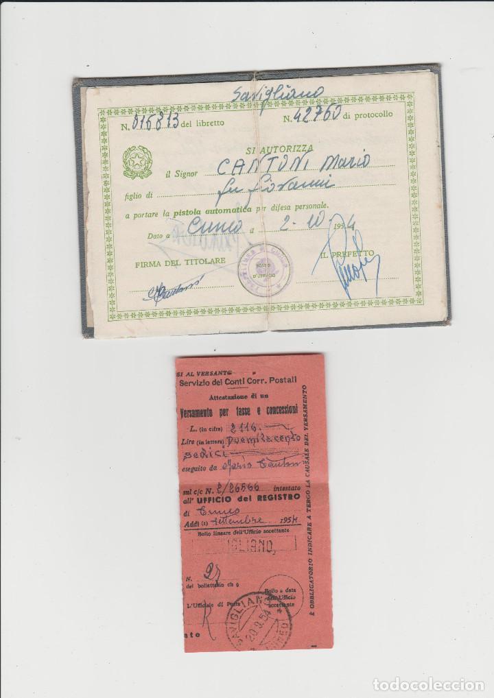 Militaria: DOCUMENTACION DE SOLDADO ITALIANO DE LA PRIMERA GUERRA MUNDIAL - Foto 3 - 199976371