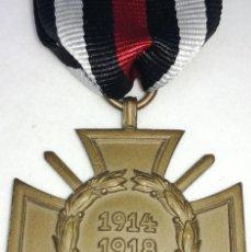 Militaria: MEDALLA CRUZ DE HONOR PARA COMBATIENTES. 1914-1918. I GUERRA MUNDIAL. ALEMANIA. KAISER GUILLERMO II.. Lote 201339720