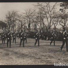Militaria: DESFILE MILITAR, FOTO DE SANCHEZ DEL PANDO- MIDE: 14 X 9 C.M. AÑO 1917, VER FOTOS. Lote 202748095