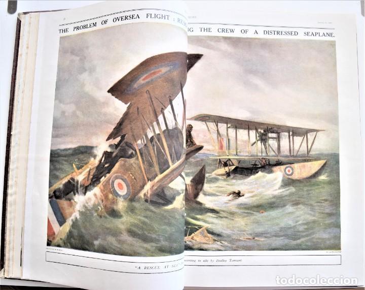 Militaria: THE SPHERE - TOMO CON LOS MESES DE ABRIL Y MAYO DE 1919 - 9 EJEMPLARES IMPECABLES INGLESES - Foto 9 - 204084285