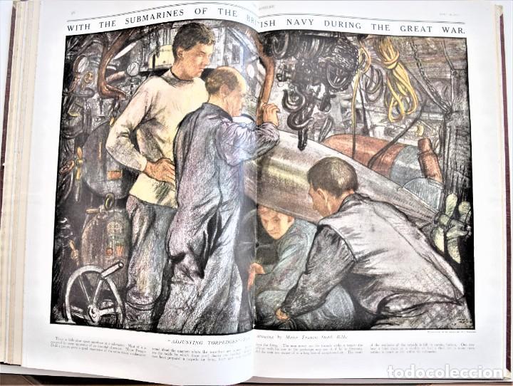 Militaria: THE SPHERE - TOMO CON LOS MESES DE ABRIL Y MAYO DE 1919 - 9 EJEMPLARES IMPECABLES INGLESES - Foto 12 - 204084285