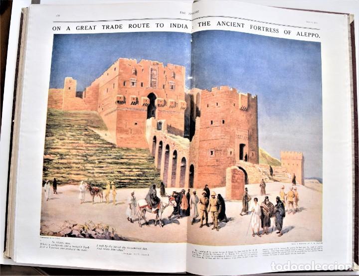 Militaria: THE SPHERE - TOMO CON LOS MESES DE ABRIL Y MAYO DE 1919 - 9 EJEMPLARES IMPECABLES INGLESES - Foto 16 - 204084285