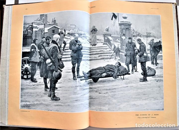 Militaria: THE SPHERE - TOMO CON LOS MESES DE ENERO, FEBRERO Y MARZO DE 1918 PUBLICACIÓN INGLESA GRAN GUERRA - Foto 15 - 204084845