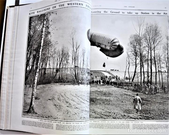 Militaria: THE SPHERE - TOMO CON LOS MESES DE OCTUBRE, NOVIEMBRE Y DICIEMBRE 1916 + ESPECIAL CHRISTMAS - Foto 10 - 204672278