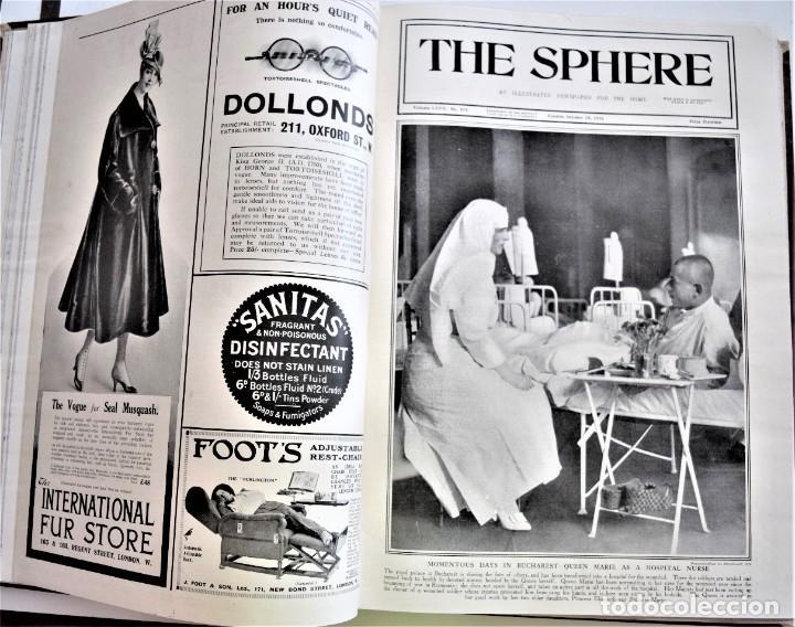 Militaria: THE SPHERE - TOMO CON LOS MESES DE OCTUBRE, NOVIEMBRE Y DICIEMBRE 1916 + ESPECIAL CHRISTMAS - Foto 11 - 204672278