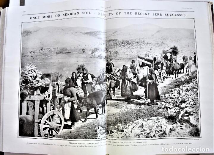 Militaria: THE SPHERE - TOMO CON LOS MESES DE OCTUBRE, NOVIEMBRE Y DICIEMBRE 1916 + ESPECIAL CHRISTMAS - Foto 13 - 204672278