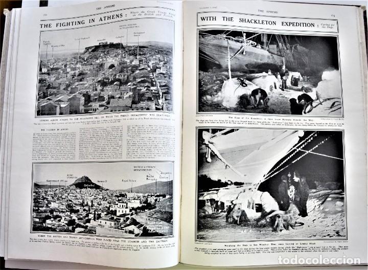 Militaria: THE SPHERE - TOMO CON LOS MESES DE OCTUBRE, NOVIEMBRE Y DICIEMBRE 1916 + ESPECIAL CHRISTMAS - Foto 14 - 204672278