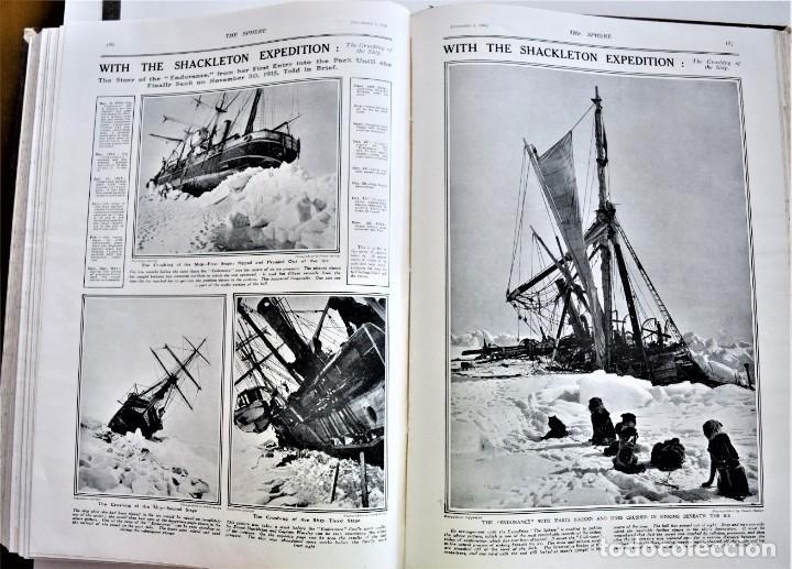 Militaria: THE SPHERE - TOMO CON LOS MESES DE OCTUBRE, NOVIEMBRE Y DICIEMBRE 1916 + ESPECIAL CHRISTMAS - Foto 15 - 204672278