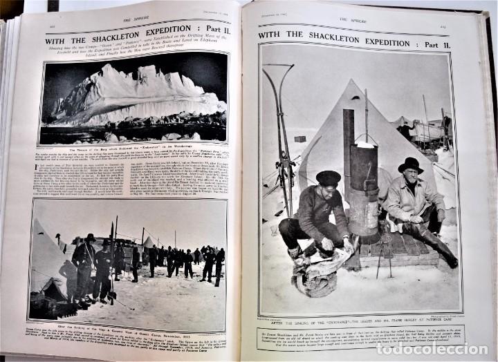 Militaria: THE SPHERE - TOMO CON LOS MESES DE OCTUBRE, NOVIEMBRE Y DICIEMBRE 1916 + ESPECIAL CHRISTMAS - Foto 17 - 204672278