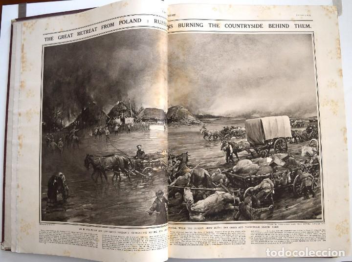 Militaria: THE SPHERE - TOMO CON LOS MESES DE OCTUBRE, NOVIEMBRE Y DICIEMBRE 1915 + UN ESPECIAL ESPECIAL - Foto 6 - 205174586