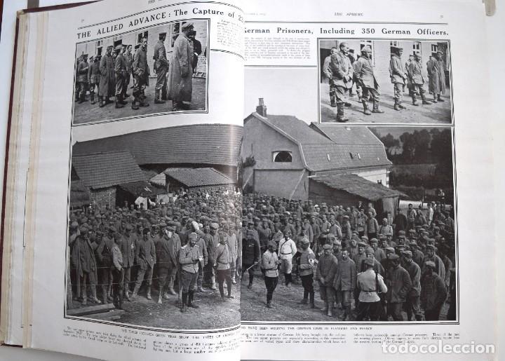 Militaria: THE SPHERE - TOMO CON LOS MESES DE OCTUBRE, NOVIEMBRE Y DICIEMBRE 1915 + UN ESPECIAL ESPECIAL - Foto 9 - 205174586