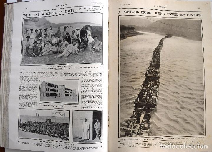 Militaria: THE SPHERE - TOMO CON LOS MESES DE OCTUBRE, NOVIEMBRE Y DICIEMBRE 1915 + UN ESPECIAL ESPECIAL - Foto 16 - 205174586
