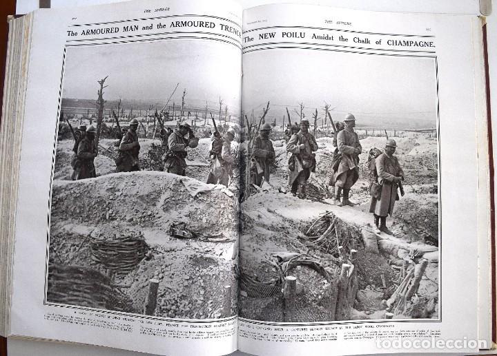 Militaria: THE SPHERE - TOMO CON LOS MESES DE OCTUBRE, NOVIEMBRE Y DICIEMBRE 1915 + UN ESPECIAL ESPECIAL - Foto 17 - 205174586