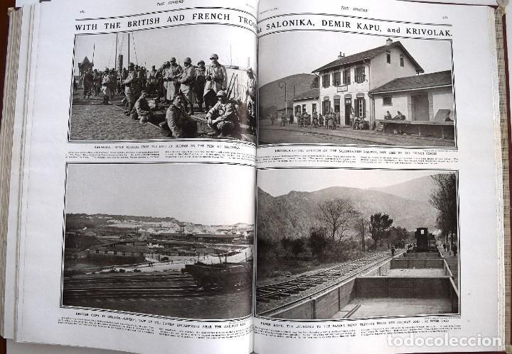 Militaria: THE SPHERE - TOMO CON LOS MESES DE OCTUBRE, NOVIEMBRE Y DICIEMBRE 1915 + UN ESPECIAL ESPECIAL - Foto 18 - 205174586