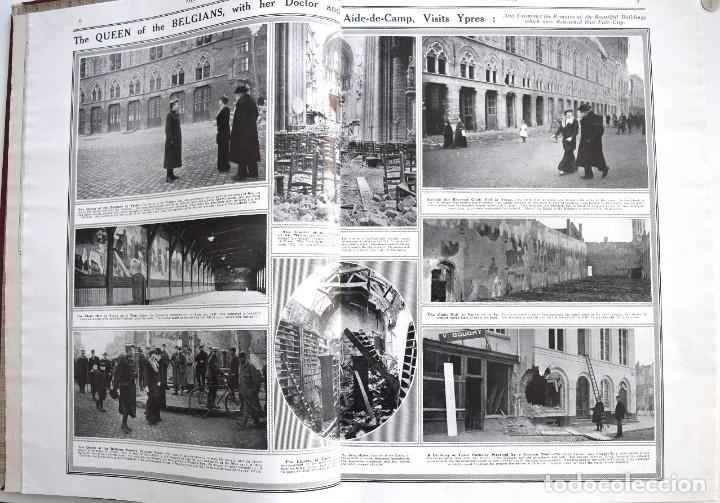 Militaria: THE SPHERE - TOMO CON LOS MESES DE ABRIL, MAYO Y JUNIO 1915 PRIMERA GUERRA MUNDIAL - Foto 6 - 205175922