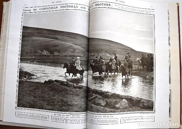 Militaria: THE SPHERE - TOMO CON LOS MESES DE ABRIL, MAYO Y JUNIO 1915 PRIMERA GUERRA MUNDIAL - Foto 16 - 205175922