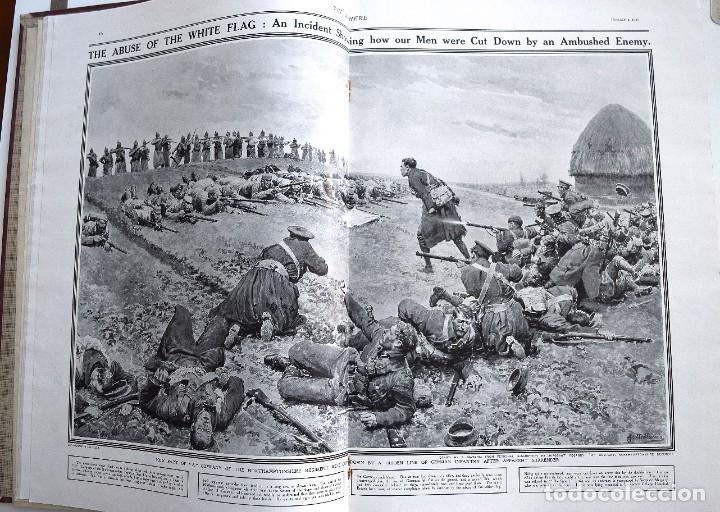 Militaria: THE SPHERE - TOMO CON LOS MESES DE ENERO, FEBRERO Y MARZO 1915 PRIMERA GUERRA MUNDIAL - Foto 8 - 205176848