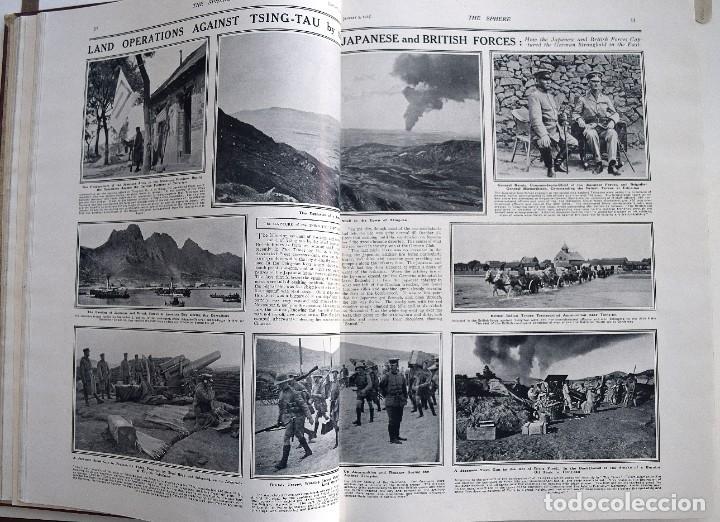 Militaria: THE SPHERE - TOMO CON LOS MESES DE ENERO, FEBRERO Y MARZO 1915 PRIMERA GUERRA MUNDIAL - Foto 12 - 205176848