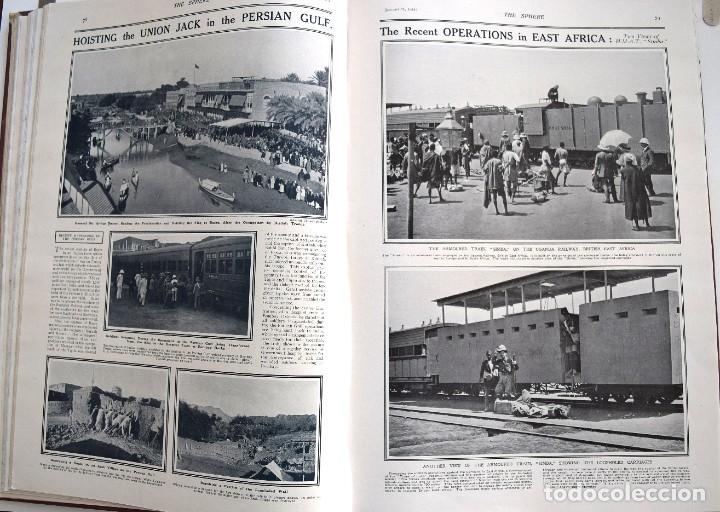 Militaria: THE SPHERE - TOMO CON LOS MESES DE ENERO, FEBRERO Y MARZO 1915 PRIMERA GUERRA MUNDIAL - Foto 14 - 205176848