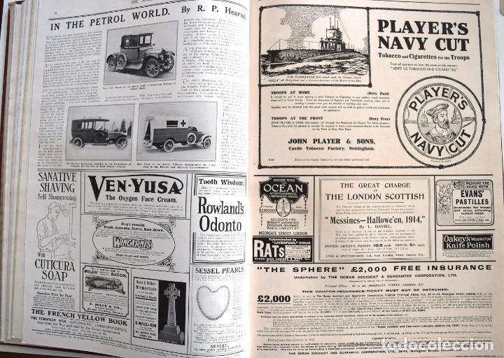 Militaria: THE SPHERE - TOMO CON LOS MESES DE ENERO, FEBRERO Y MARZO 1915 PRIMERA GUERRA MUNDIAL - Foto 15 - 205176848