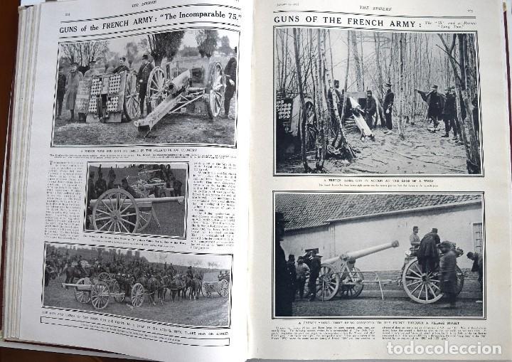 Militaria: THE SPHERE - TOMO CON LOS MESES DE ENERO, FEBRERO Y MARZO 1915 PRIMERA GUERRA MUNDIAL - Foto 17 - 205176848