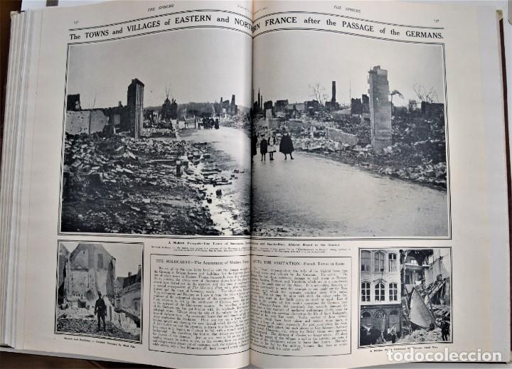 Militaria: THE SPHERE - TOMO CON LOS MESES DE ENERO, FEBRERO Y MARZO 1915 PRIMERA GUERRA MUNDIAL - Foto 19 - 205176848