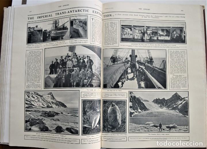 Militaria: THE SPHERE - TOMO CON LOS MESES DE ENERO, FEBRERO Y MARZO 1915 PRIMERA GUERRA MUNDIAL - Foto 21 - 205176848